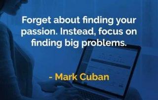 Kata-kata Bijak Mark Cuban Fokus Dalam Menemukan Masalah Besar - Finansialku