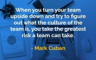 Kata-kata Bijak Mark Cuban Mengambil Risiko Terbesar - Finansialku