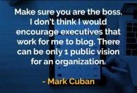 Kata-kata Bijak Mark Cuban Pastikan Anda Adalah Bosnya - Finansialku