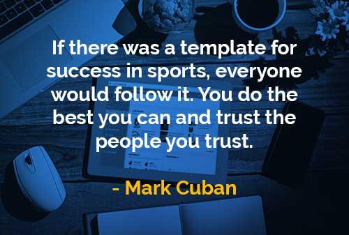 Kata Kata Bijak Mark Cuban Sukses Dalam Olahraga Finansialku