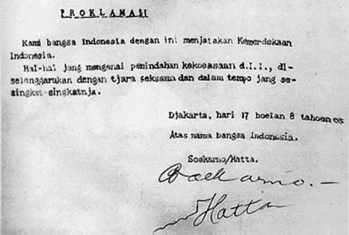 Kilas Balik Sejarah Proklamasi Kemerdekaan Indonesia 05 Finansialku