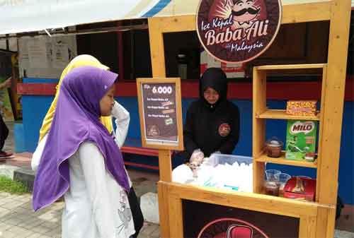 Peluang Bisnis dan Waralaba Es Kepal 04 Ice Kepal Baba Ali - Finansialku