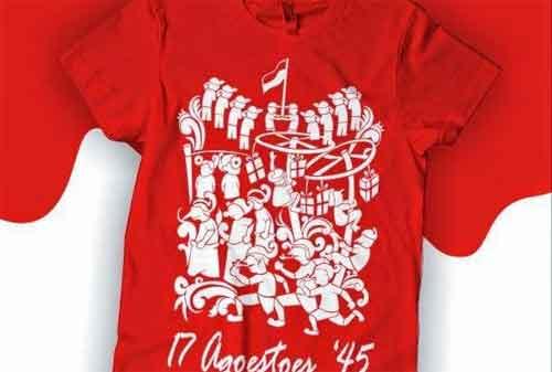 Peluang Usaha Menyambut Hari Kemerdekaan Indonesia 02 Kaos - Finansialku