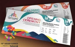 Tiket Asian Games 2018 - Finansialku