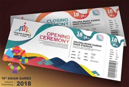 Menabung untuk Membeli Tiket Asian Games 2018