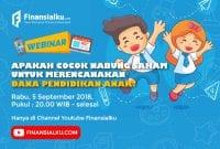 Webinar: Saham Untuk Dana Pendidikan