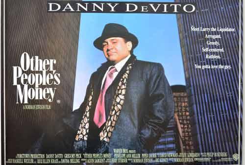 5+ Pelajaran Berharga dari Film Other People's Money (1991) Tentang Bisnis
