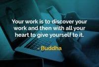 Kata-kata Bijak Buddha Pekerjaan Anda - Finansialku