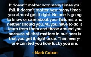 Kata-kata Bijak Mark Cuban Berapa Kali Anda Gagal - Finansialku
