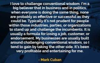Kata-kata Bijak Mark Cuban Menantang Kebijaksanaan Konvensional - Finansialku