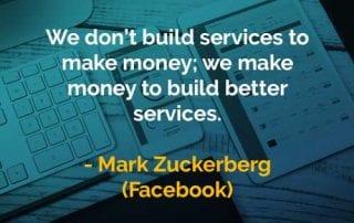 Kata-kata Bijak Mark Zuckerberg Pelayanan - Finansialku