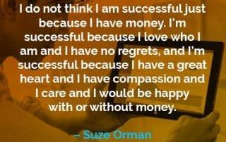 Kata-kata Motivasi Suze Orman Saya Berhasil - Finansialku