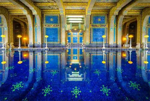 Kolam Renang Termahal di Dunia 06 Hearst Castle - Finansialku
