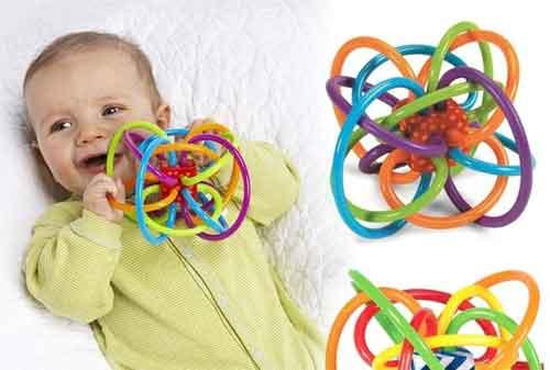 Mainan Anak Bayi 04 Karet - Finansialku