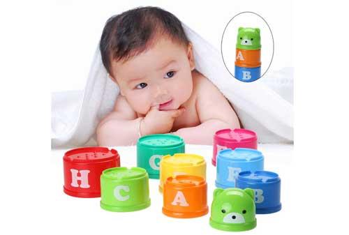 Mainan Anak Bayi 07 Balok - Finansialku