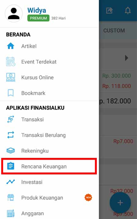 Aplikasi Finansialku Dana Pensiun 1