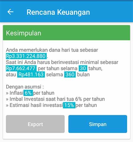 Aplikasi Finansialku Dana Pensiun 7