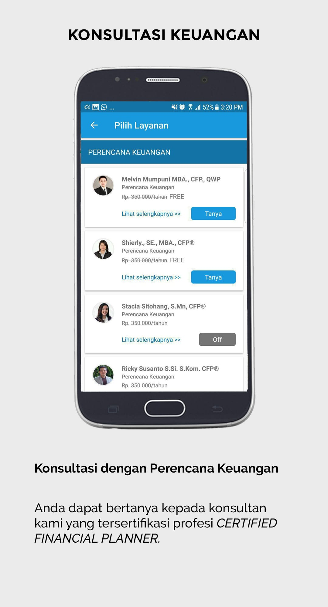 Aplikasi Finansialku - Konsultasi Keuangan - Catatan Keuangan Harian