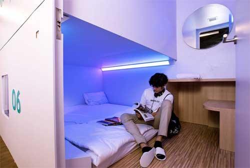 Berapa Besar Peluang Keuntungan Investasi Hotel Kapsul 02 - Finansialku