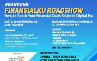 Event How to Reach Your Financial Goals Faster in Digital Era B
