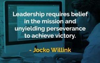 Kata-kata Bijak Jocko Willink Kepemimpinan Membutuhkan - Finansialku