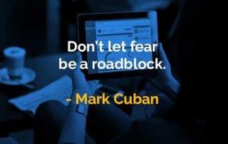 Kata-kata Bijak Mark Cuban Rasa Takut - Finansialku