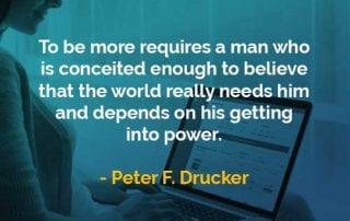 Kata-kata Bijak Peter Drucker Seseorang yang Cukup Sombong - Finansialku