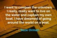 Kata-kata Motivasi Suze Orman Ingin Menaklukkan - Finansialku