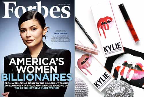 Kisah Sukses Kylie Jenner, Pengusaha Muda yang Kaya Raya
