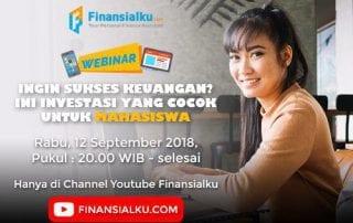 Webinar Ingin Sukses Keuangan