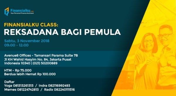 Finansialku Class Jakarta