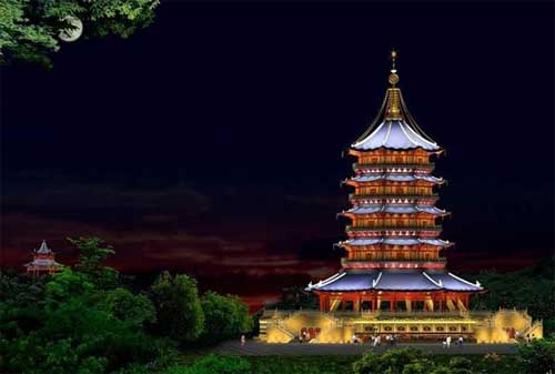 Destinasi Wisata Hangzhou 04 Leifeng Pagoda - Finansialku