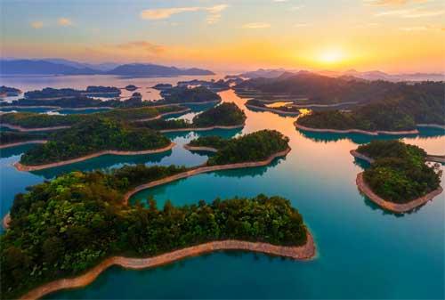 Destinasi Wisata Hangzhou 05 Qiandao Lake - Finansialku
