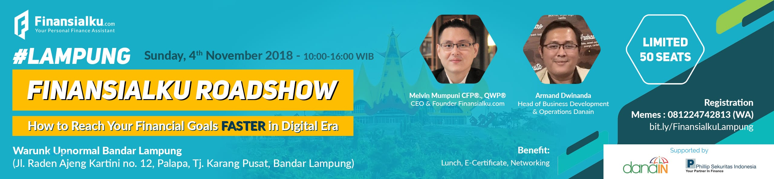 Event How to Reach Your Financial Goals Faster in Digital Era Lampung (2)