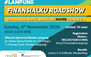 Event How to Reach Your Financial Goals Faster in Digital Era Lampung