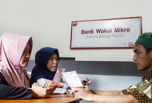 Pemerintah Kucurkan Pembiayaan Rp594 Miliar untuk Bank Wakaf Mikro