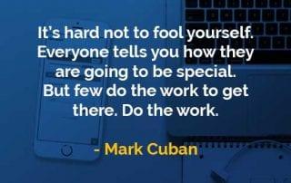 Kata-kata Bijak Mark Cuban Membodohi Diri Sendiri - Finansialku