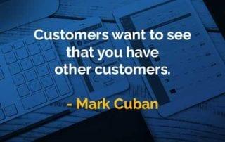 Kata-kata Bijak Mark Cuban Memiliki Pelanggan Lain - Finansialku