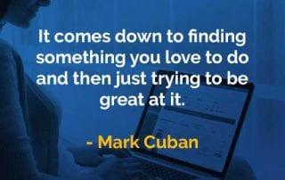 Kata-kata Bijak Mark Cuban Menemukan Sesuatu - Finansialku