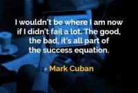 Kata-kata Bijak Mark Cuban Persamaan Sukses - Finansialku