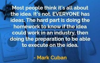Kata-kata Bijak Mark Cuban Semua Orang Memiliki Ide - Finansialku