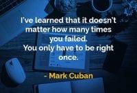 Kata-kata Bijak Mark Cuban Tidak Masalah Berapa Kali Anda Gagal - Finansialku