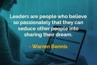 Kata-kata Bijak Warren Bennis Pemimpin Adalah - Finansialku