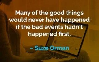 Kata-kata Motivasi Suze Orman Hal-hal Baik - Finansialku