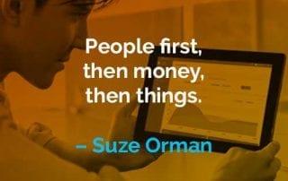 Kata-kata Motivasi Suze Orman Orang dan Uang