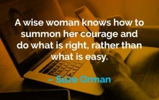 Kata-kata Motivasi Suze Orman Seorang Wanita Bijaksana - Finansialku