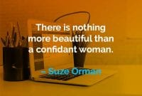 Kata-kata Motivasi Suze Orman Wanita yang Percaya Diri - Finansialku