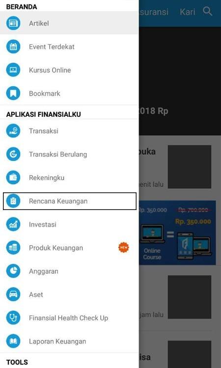 Merencanakan Keungan (Dana Membeli Mobil) Aplikasi Finansialku