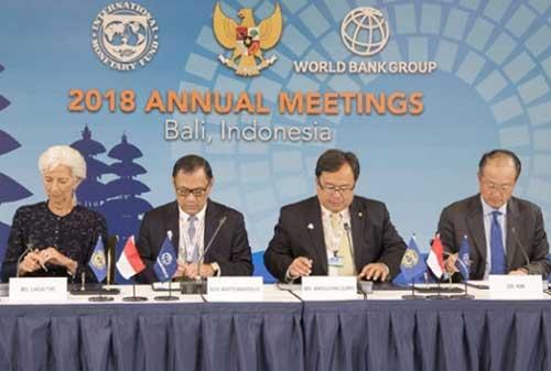 Pemborosan Dana Pertemuan IMF World Bank, Pemerintah Bela Diri 02 - Finansialku
