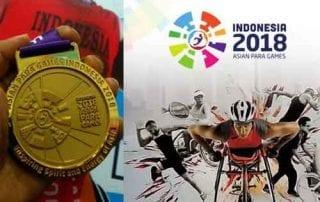 Peringkat Akhir dan Perolehan Medali Indonesia di Asian Para Games 2018 01 - Finansialku
